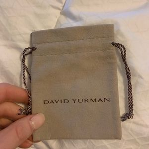 Davis Yurman Suede Pouch